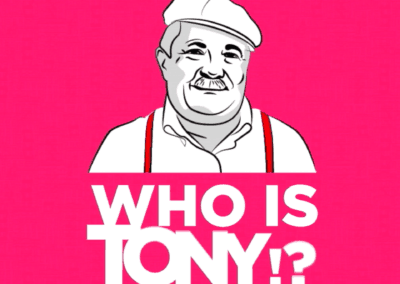 "Tony's Burger – Campagna ""Who is Tony?"""